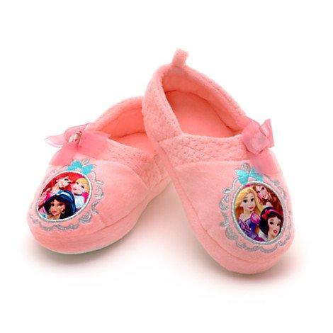 Disney Prinzessin warm Hausschuhe / Schuhe für Kinder - (Kids Schuhgröße EU 24 - 26 .... UK 7 - 8