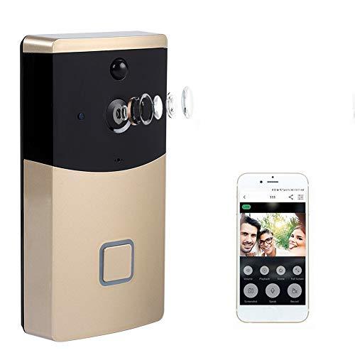 Video-Türklingel Wireless, 720P WiFi IP Smart Video-Türsprechanlage Intercom Home Security Kamera mit Nachtsicht Zwei-Wege-Intercom Cloud Storage Ip-intercom