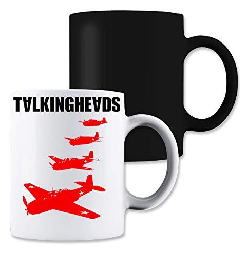 Shut Up Talking Heads Remain in Light Magische Tee-Kaffeetasse - Talking Heads Tee