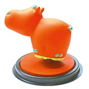 Unbekannt Aladine 3003697–Stampo Zozo Hippopotame, Orange/Vert