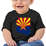 Photo de LXLING Arizona Map Baby Short Sleeve Crewneck T Shirts par LXLING