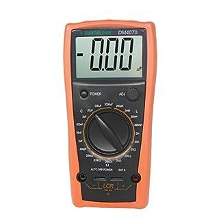 DM4070 LCR meter capacitance Inductance Resistance self-discharge compared with FLUKE UK ship