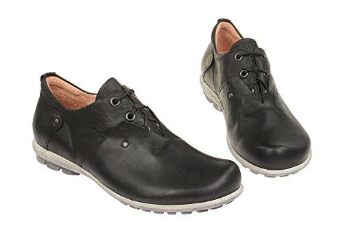 Think!  0-80656-09, Chaussures à lacets et coupe classique homme Schwarz