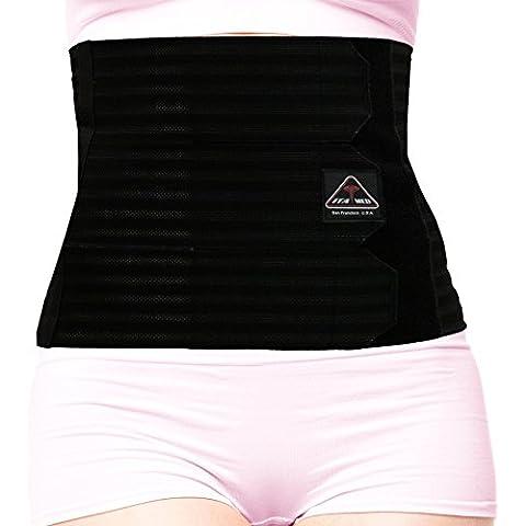 ita-med Mujer transpirable Apoyo elástico abdominal Carpeta de anillas