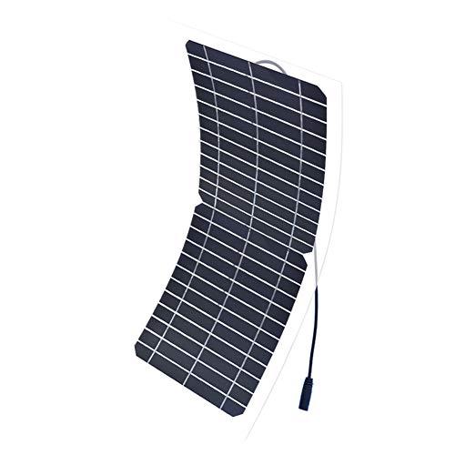 JAYLONG 10W Flexibles Solar Panel, 12V-Sicherheits-Solarladegeräte, 17,3 * 7.5 In Geeignet Für Dächer, Outdoor Und Autos - Portable-rv-generator