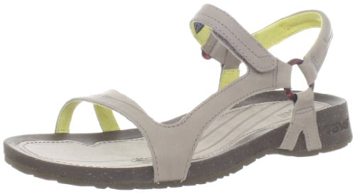 Teva Cabrillo Universal Leather 8780, Sandali donna, Grigio (Grau (moon rock/yellow 687)), 37