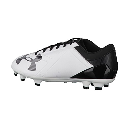 Spotlight DL FG - Chaussures de Foot - Blanc Blanc - Blanc/noir