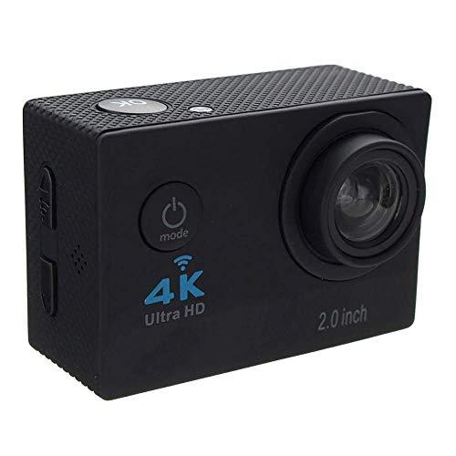 1080P Sport Action Kamera Ultra HD WiFi 4 Karat 2 Zoll LCD Display DVR Video Camcorder, 30 Mt DV Wasserdichte Tauchen Camcorder, 170 Grad Weitwinkel für Tauchen Radfahren Wandern Adventurer,Black