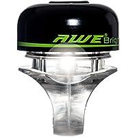 AWE® AWEBright™ LED Campana Bicicletta Nero