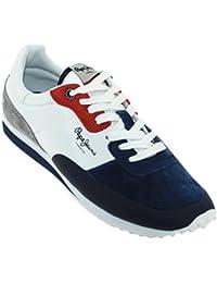 1d4abc397d07d Chaussures de Sport Pour Homme Pepe Jeans PMS30404 Garret 595 Navy