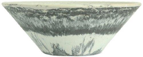 Listo Premium Horizon Flacher Schüssel, 38,1 cm, Schwarz -