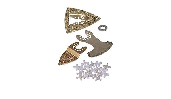 Reparation De Carrelage Pro Wolfcraft 3960000 1 Kit Daccessoires Pour Outils Multifonctions Outillage A Main Et Electroportatif Bricolage
