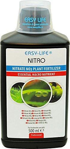 Easy Life 38 Verschiedene Sorten und Größen 250 ml - 5 Liter Profito, Carbo, Kalium, AlgExit, BlueExit, Voogle UVM. (Easy Nitro 500 ml) (Nitrat Dünger)