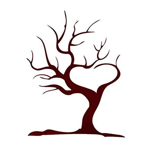 Toyvian Impronte digitali Creative Check in Tree Addensare Fai da Te a Un  ospite Impronta Digitale Sign-in Pittura per Festa di Compleanno di