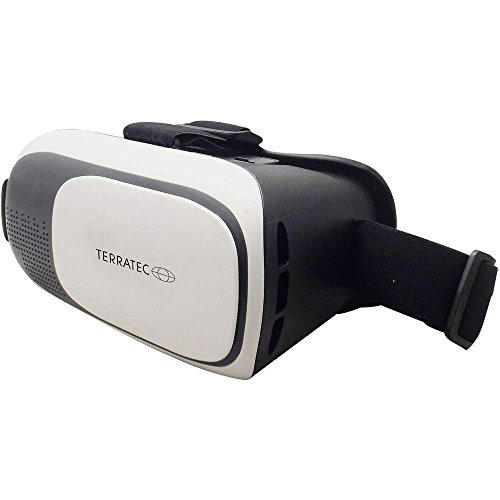 TerraTec 193539 VR-1 Virtual Reality 3D-Brille für Smartphone schwarz