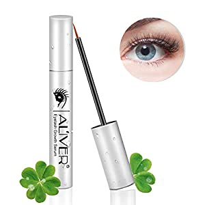Eyelash Serum, Natural Brow & Lash Growth Rapid Boost Enhancer for Longer, Thicker and Dark Eyelashes and Eyebrows