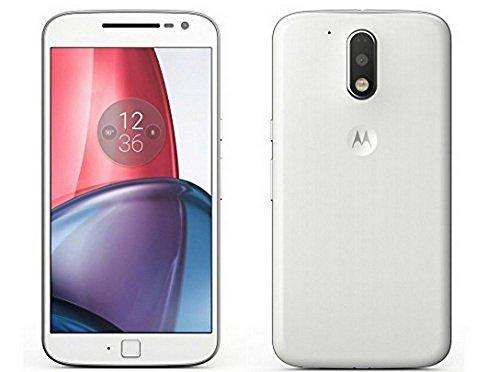 (CERTIFIED REFURBISHED) Motorola G4 Plus XT1643 (White, 32GB)