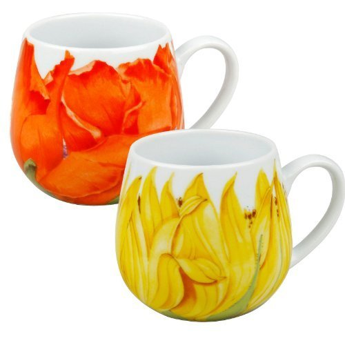 konitz-poppy-and-sunflower-blossoms-snuggle-mugs-set-of-2-by-konitz