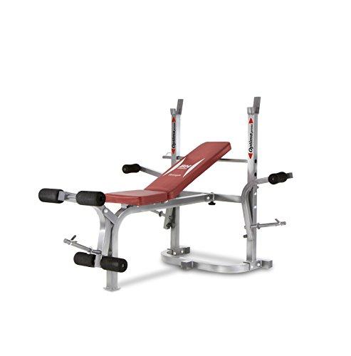 BH Fitness OPTIMA FLEX G325 Multifunktions-Hantelbank - Rückentrainer - Krafttraining - Maximale Stabilität - Schaumstoffrollen - mehrere Einstellmöglichkeiten