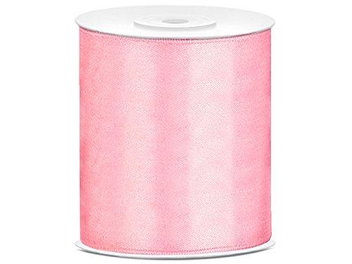 Rosa 10 (Tischband Satinband rosa, 25 Meter x 10 cm)