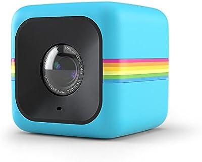 Cubo Polaroid + Minicámara de acción orientada al estilo de vida con Wi-Fi y estabilización de imagen