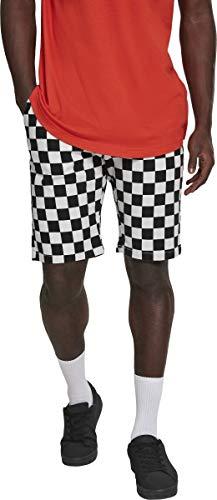 Urban Classics Herren Check Twill Shorts, Mehrfarbig (Chess 01683), 36 -