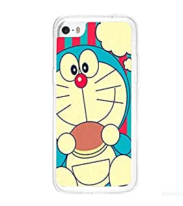 Printvisa Cartoon Character in Blue Back Case Cover for Apple iPhone 5C