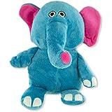 Plush Elephant Pet Toy with Squeaker - OS041