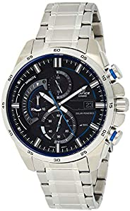 Casio Mens Quartz Watch, Analog Display and Stainless Steel Strap EQS-600D-1A2UDF