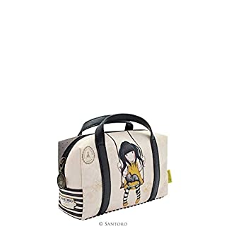 Gorjuss Ruby Yellow Suitcase Pencil Case