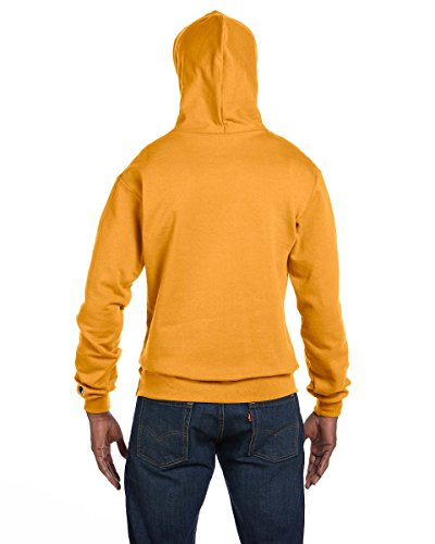Champion Mens Double Dry Eco Pullover Hood Oro