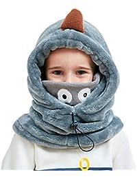 906992e4870 VIVO SUN Enfant Bonnet d Hiver Cagoule Bébé Écharpe Fille Garçon  Cache-Oreilles Calotte