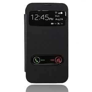 Coque Etui Housse Flip Cover PU Cuir S-View Pour Samsung Galaxy Note 2 N7100