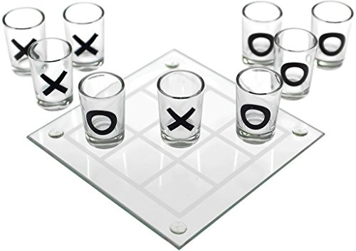 Tic Tac Toe Board Game/Board Game/Party Game/Drinking Game