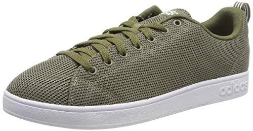 adidas Vs Advantage Cl Scarpe da Tennis Uomo, Verde Trace Cargo/Ftwr White/Raw Khaki, 44 2/3 EU
