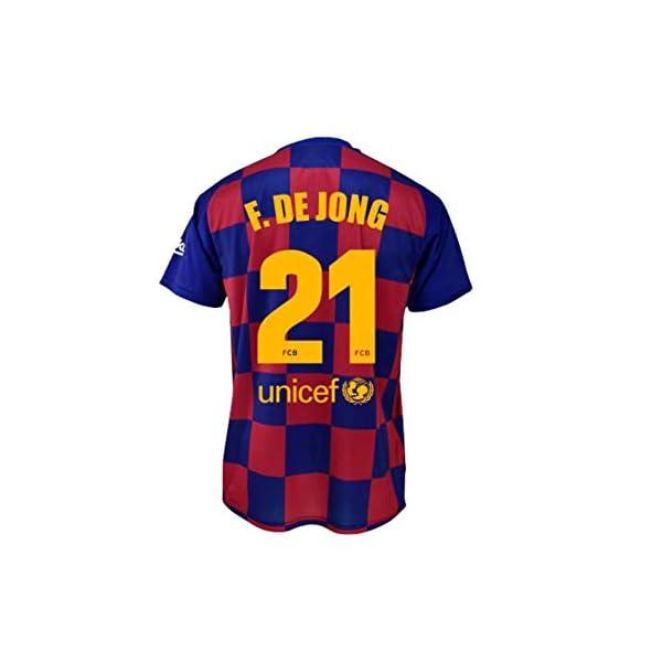 Lionel Messi Colecci/ón Oficial Talla ni/ño Fc Barcelone Camiseta de algod/ón Bar/ça