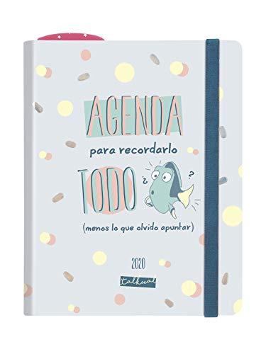 Finocam - Agenda Talkual 2020 1 día página Todo español
