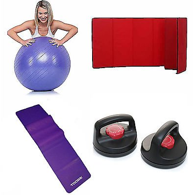 Kit Easy Fitness 2.0 Victoria by Oliviero Pacchetto Easy Fitness, rosse, rossa, rossi, amaranto, gym ball, fitness, palla,kit, easy, fitness