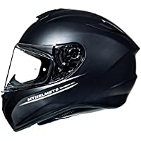 CASCO MT TARGO NEGRO MATE (M)