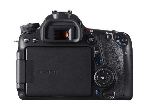 Canon EOS 70D SLR-Digitalkamera (20,2 Megapixel, 7,6 cm (3 Zoll) Display, APS-C CMOS Sensor, Full HD, WiFi, DIGIC 5+ Prozessor) nur Gehäuse schwarz -
