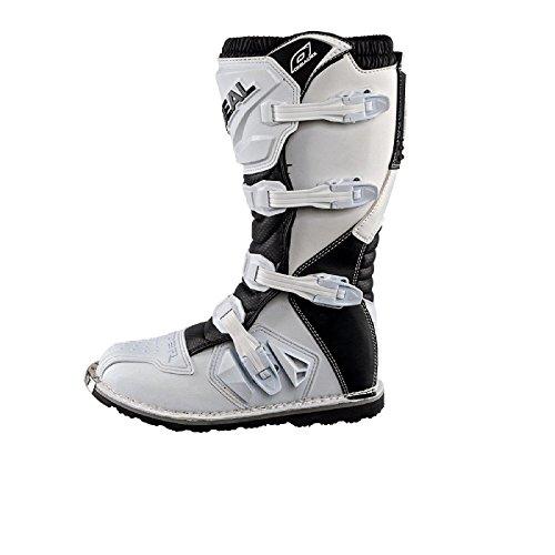 O'Neal Rider Boot MX Stiefel Weiß Moto Cross Enduro Motorrad, 0329-2, Größe 43 - 3