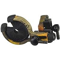 ZSHJG Cepillo de Flecha de Arco Flecha Resto Cepillo Ajuste de Windage Galleta Cepillo para el Arco Compuesto (Camuflaje)