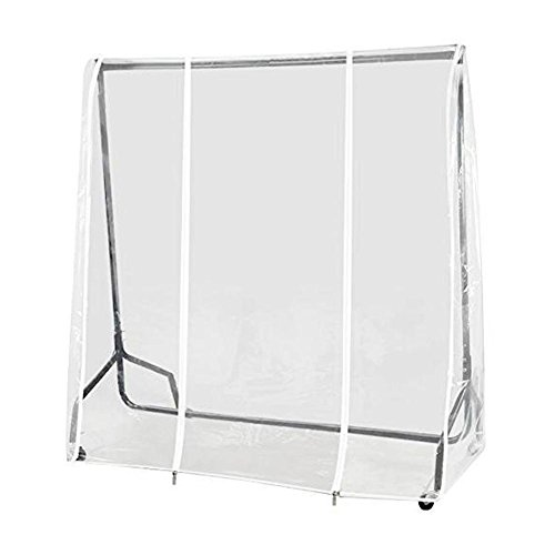 Supertop 6 pies (184 cm) ropa transparente cubierta del carril cubiert