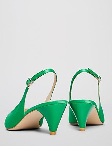FIND Pumps mit Riemchen Grün (Emerald 025)