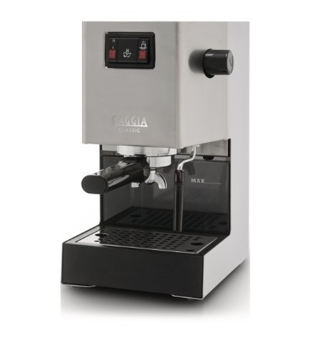 Gaggia Classic RI8161 Coffee Machine with Professional Filter Holder - Stainless Steel Body by Gaggia