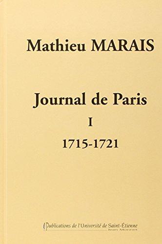 Journal de Paris : Tome 1, 1715-1721