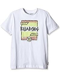g.s.m. Europe–BILLABONG Camiseta de duración de Macaulay Boys Short Sleeve Blanco blanco