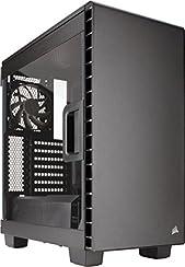 Corsair CC-9011081-WW Carbide Series 400C Seitenfenster Midi-Tower ATX Computer Gehäuse, Schwarz