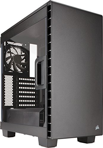 Corsair Carbide Series 400C PC-Gehäuse (Seitenfenster Midi-Tower ATX) schwarz - Desktop-tower Kleine