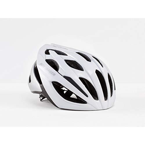 Bontrager Starvos Rennrad Fahrrad Helm weiß/silberfarben 2019: Größe: XL (60-66cm)